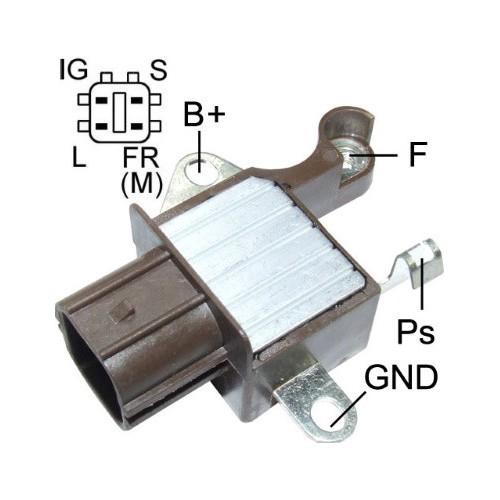 Regulator for alternator DENSO 104210-3050 / 104210-3051 / 104210-3052
