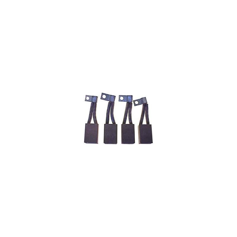Jeu de balais / charbon pour démarreur Bosch 0001401011 / 0001401012 / 000140101