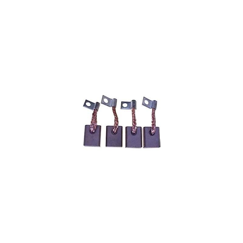 Brush set for starter BOSCH 0001154001 / 0001154007