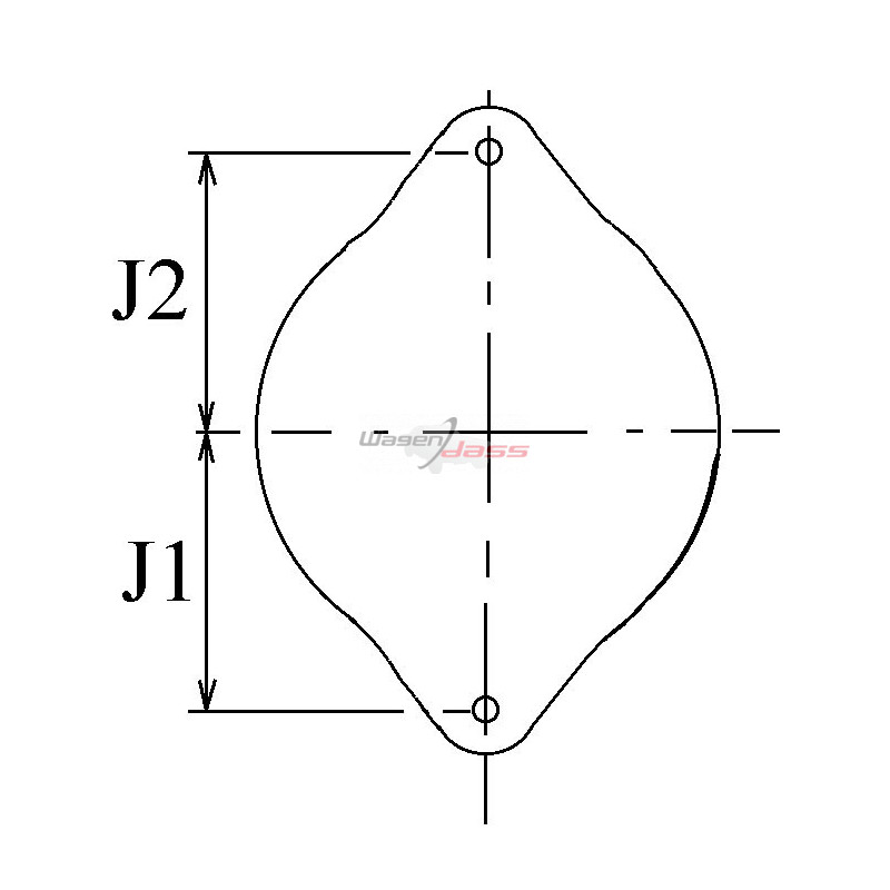 Alternator VALEO TG15C012 / TG15C064 / 2543236 / 2542672B / 437452