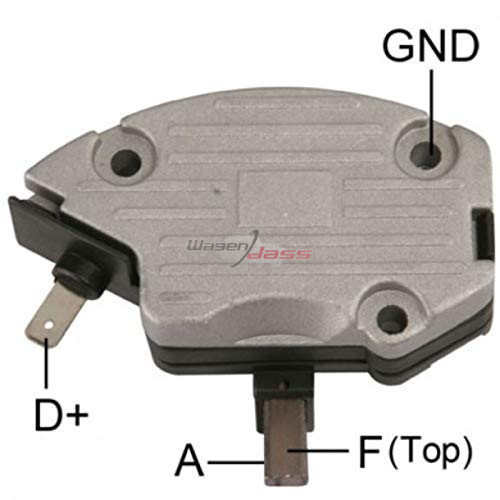 Regulator for alternator Lucas 54022415 / 54022578 / 54022711 / Marelli 5402245