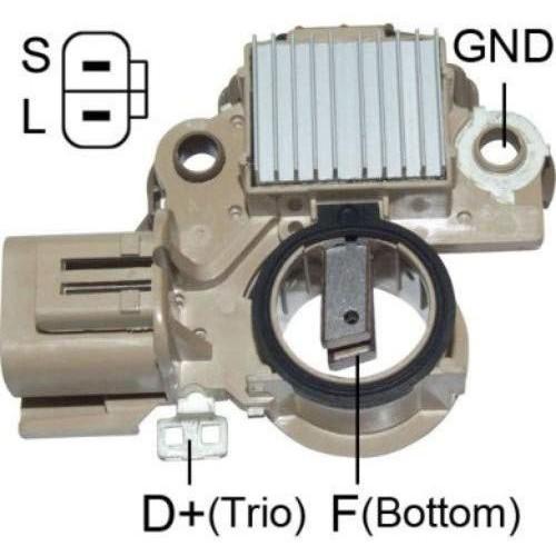 Regulator for alternator Mando AB170036 / AB170066 / AB180092 / APR140AB / Mazda B66S-18-300 / Valeo 437648