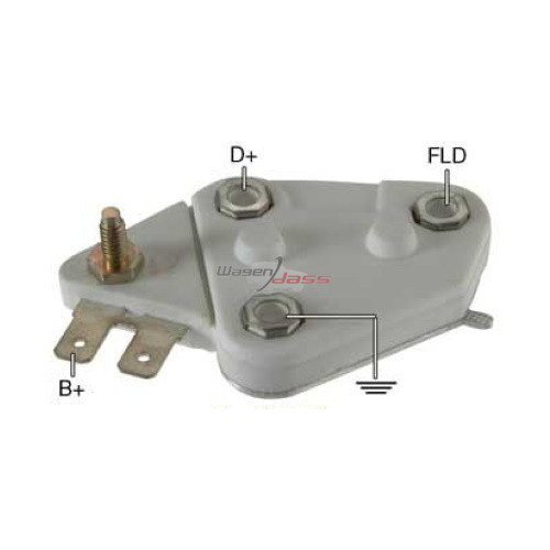 Regulator for alternator Delco Remy 10457127 / 10459026 / 10459061 / 10459062 / 10459064