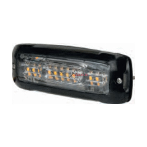 Led flash amber 12-24 volts E approval / 12 LED