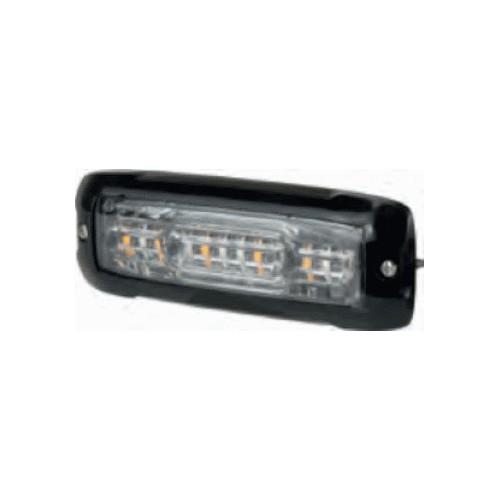 LED flash 12/24 volts Blue / orange