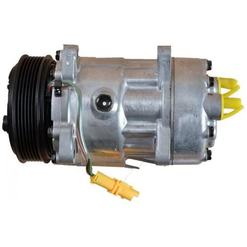 Compresseur de climatisation équivalent SD7C161323 / SD7C161316 / SD7C16-1309 / SD7C16-1309F / 813662 / 813717 / 813742 /