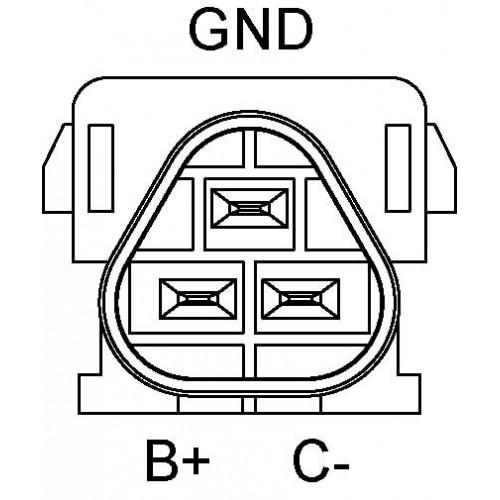 Bobine d'allumage éléctronique remplace 0001587803 / A0001587803 / 0221503035