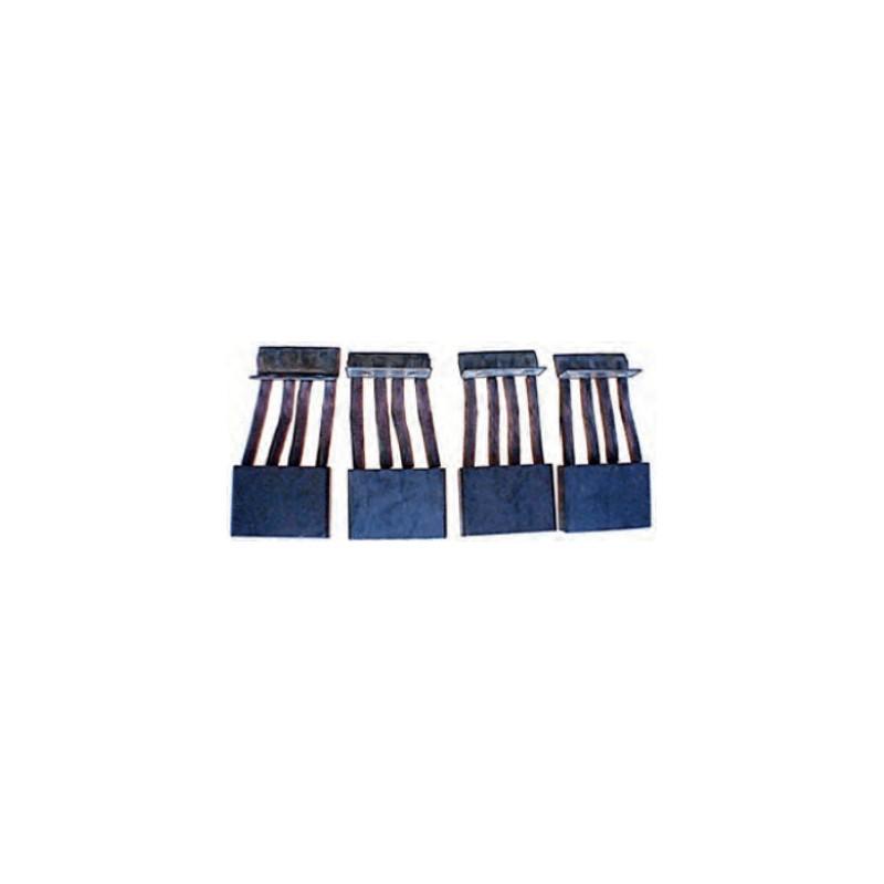 Brush set for starter BOSCH 0001510001 / 0001510002 / 0001510003