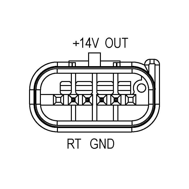 Air mass sensor replacing 0986280700 / 8V2112B579AA / 9674958880
