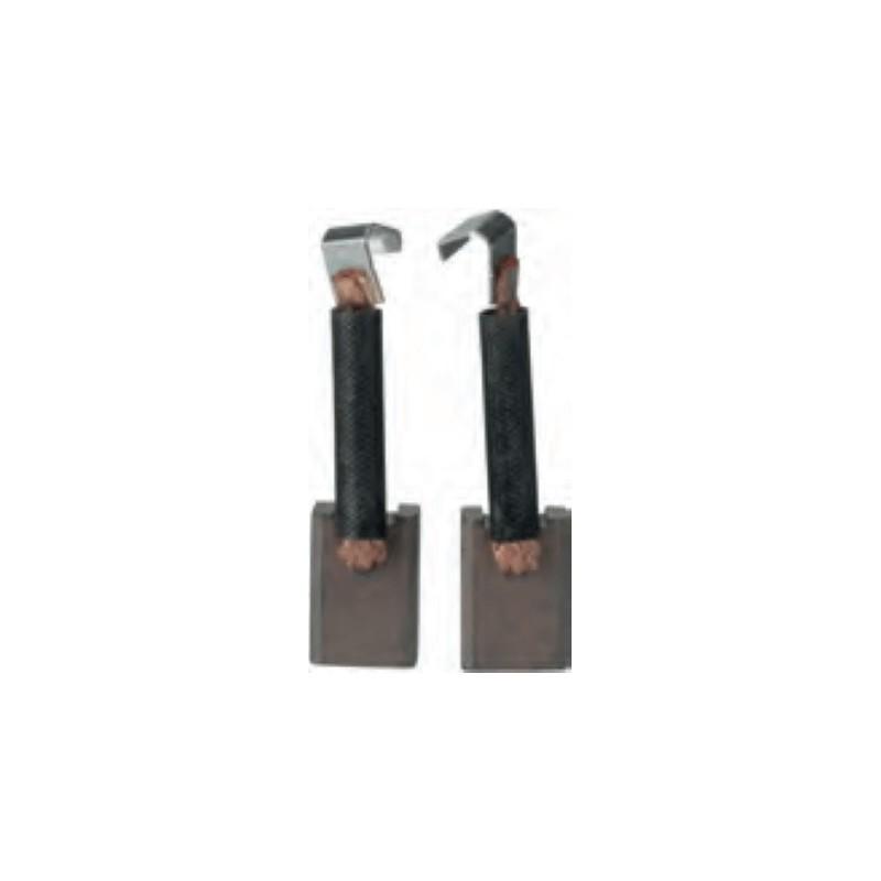 Brush set for starter MITSUBISHI M2T84571 / M2T85271 / M2T85871 / M2T87271