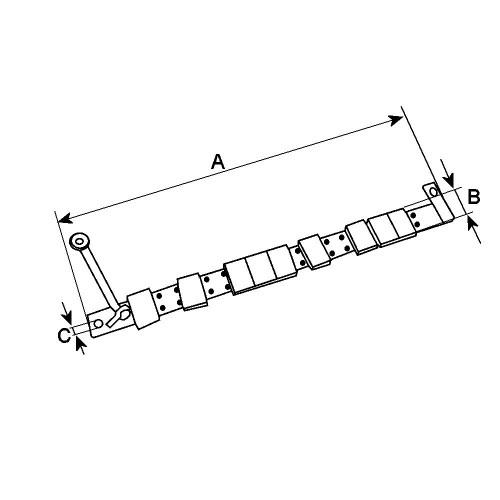Resistor replacing 231353 for LUCAS / MAGNETI MARELLI