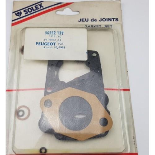 Gasket kit for solex carburettor 34 PBISA 14