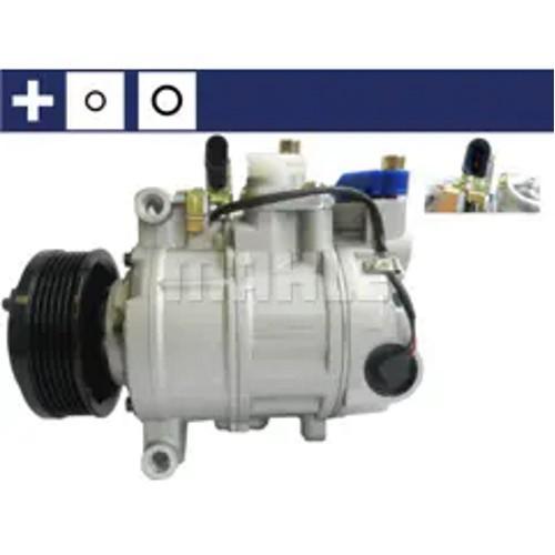 Compresseur de climatisation Mahle ACP-182-000S remplace VW 4E0260805AB