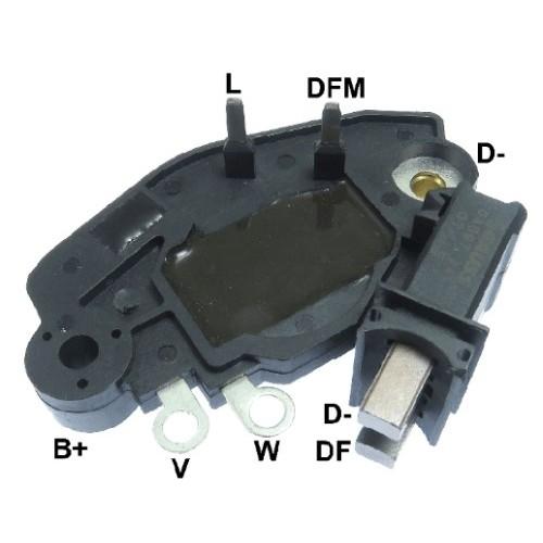 Regulator for alternator VALEO 2542286 / 2542394 / 2542396