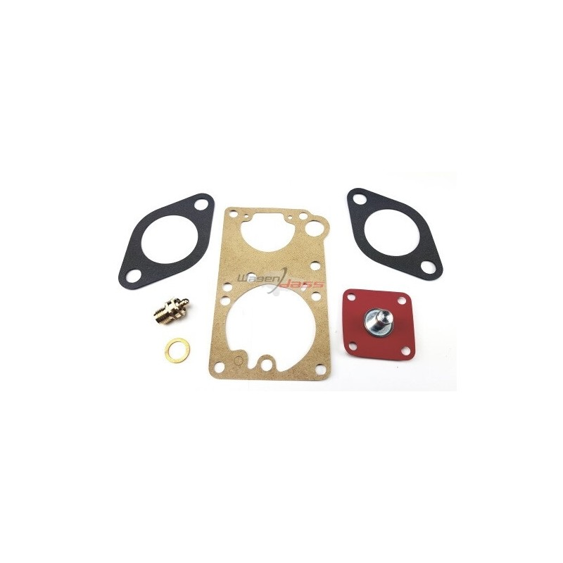 Service Kit for carburettor 34PICS 4-5-6-10 on 2 cv 4 / Dyane 4 and 6