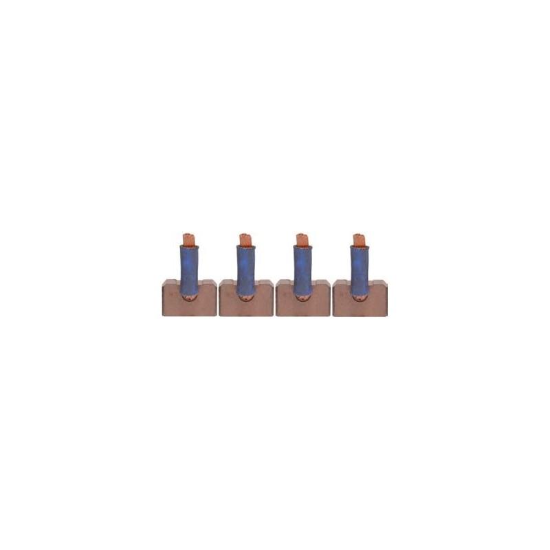Brush set for starter DENSO 228000-2120 / 228000-2121 / 228000-2122