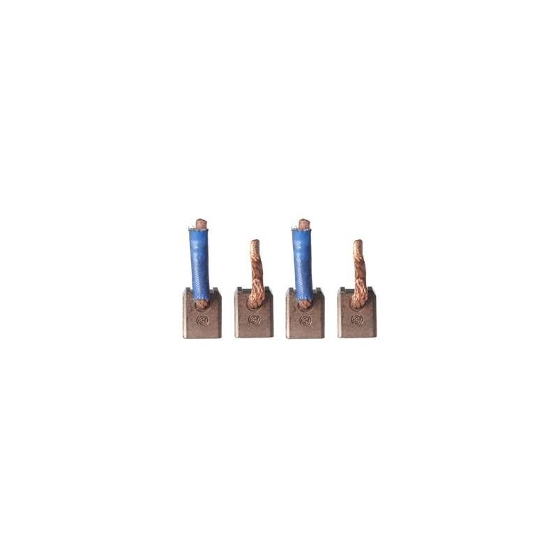 Brush set for starter DENSO 128000-7010 / 128000-7120 / 128000-7121 / 128000-7122