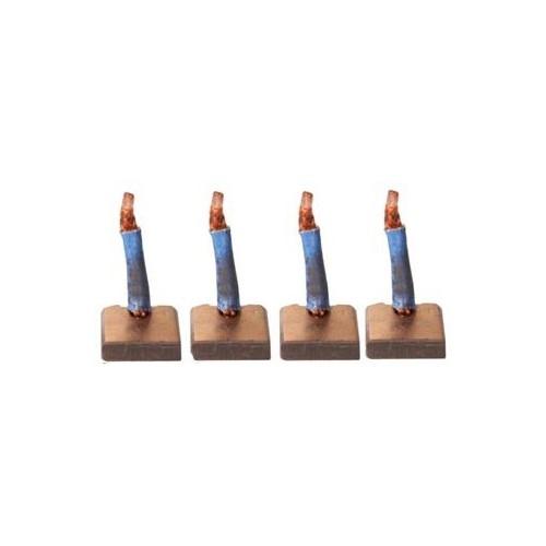 Brush set for starter DENSO 028000-5581 / 028000-6870 / 028000-6880