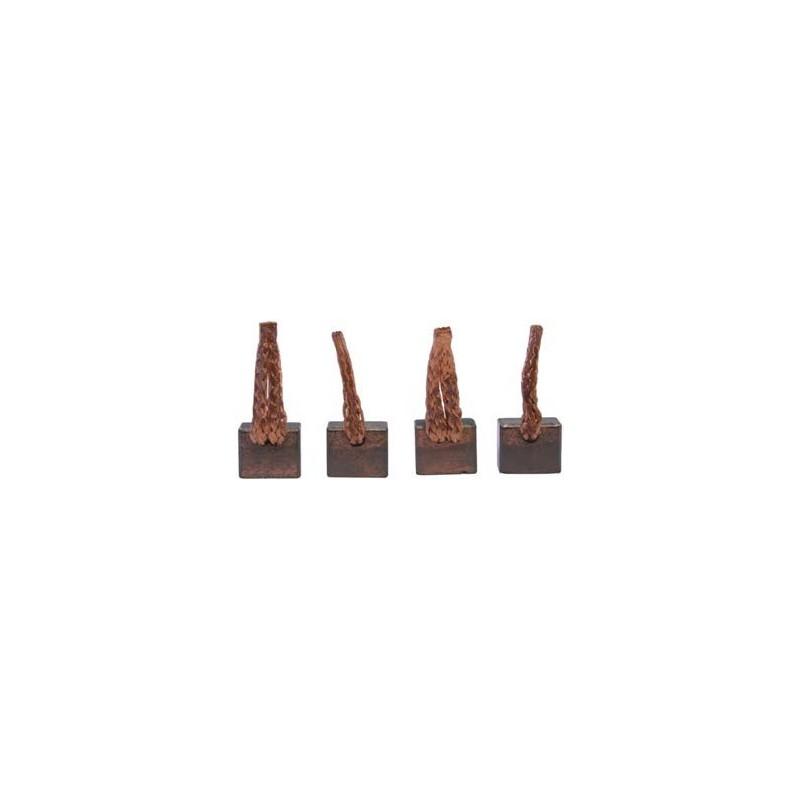 Brush set / brushes for starter VALEO D7G4 / D7GS10 / D7GS8 / D7GS9 / TS18E3