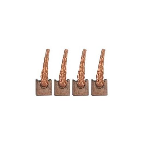 Brush set / brushes for starter VALEO D8R