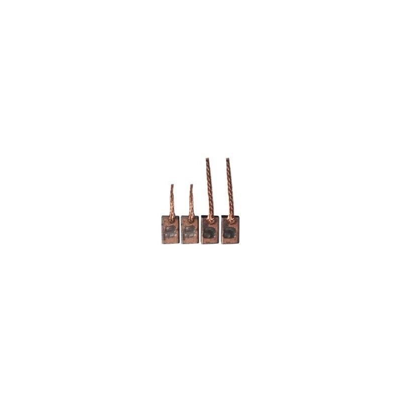 Brush set /brushes for starter VALEO D6GSP19