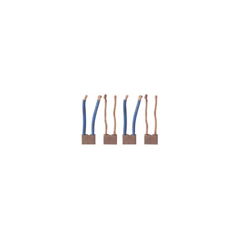 Brush set / brushes for starter D11E122 / D11E122T / D13E111