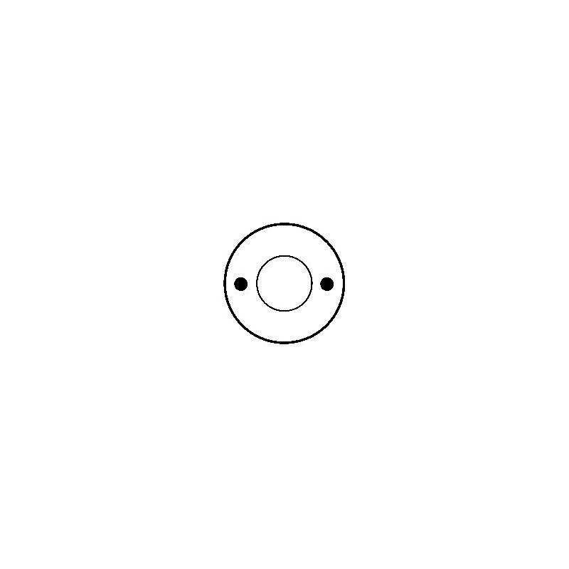 Solénoide / Contacteur pour démarreur valéo d9e131 / d9e132 / d9e43