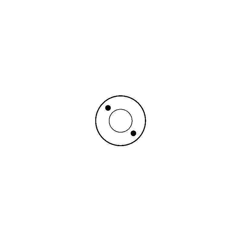 Solénoide / Contacteur pour démarreur d7e18 / d7e29 / D7E30