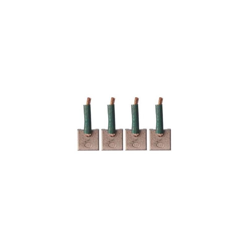 Brush set for starter MITSUBISHI M1T30271 / M1T93571