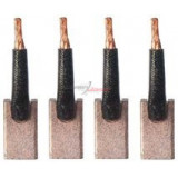 Brush set for starter MITSUBISHI M2T40081/MD066761