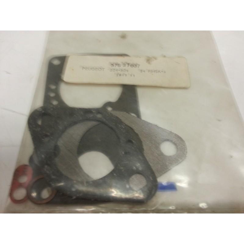 Service Kit SOLEX for carburettor 34PBISA3 on PEUGEOT 204-304