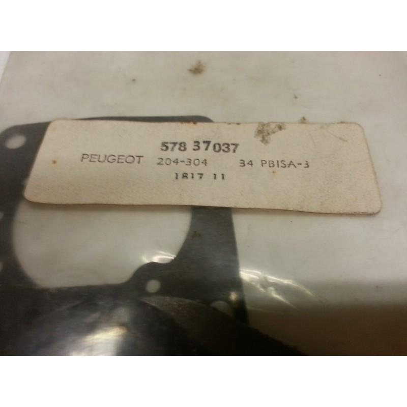 Pochette de joint solex pour carburateur 34PBISA3 sur Peugeot 204-304