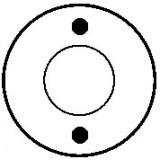 Contacteur / Magnetschalter für anlasser MITSUBISHI M0T70681 / M0T70781 / M0T71581
