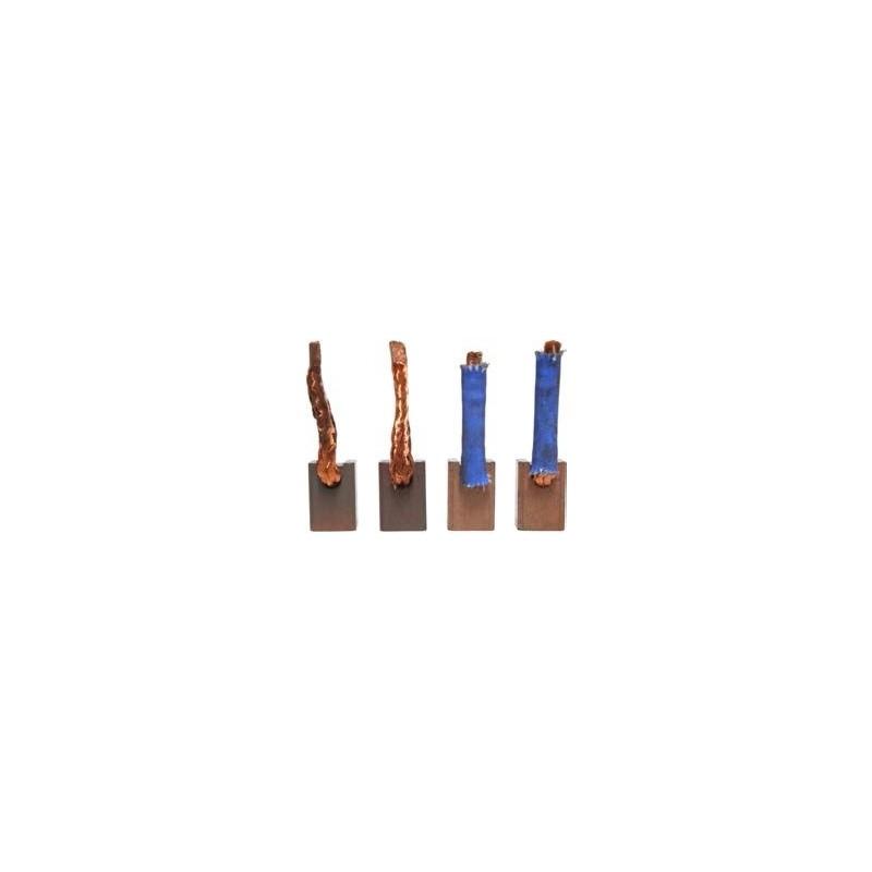 Brush set for starter MITSUBISHI 1810A053 / M1T50071 / M2T10171