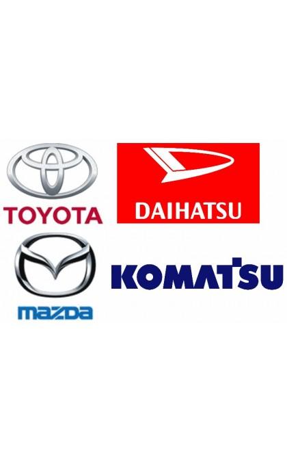 Starter for TOYOTA / MAZDA / DAIHATSU / KOMATSU