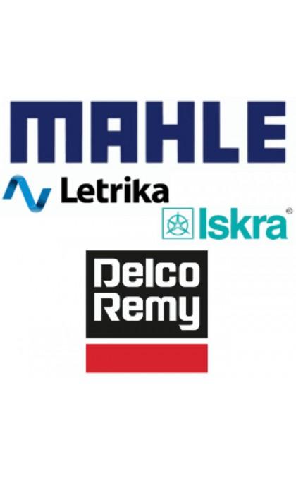 Jeu de balais / charbon pour démarreur Iskra / Delco Remy