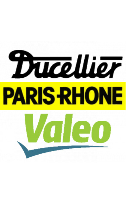 Jeu d'inducteurs pour démarreur PARIS-RHONE / DUCELLIER / VALEO