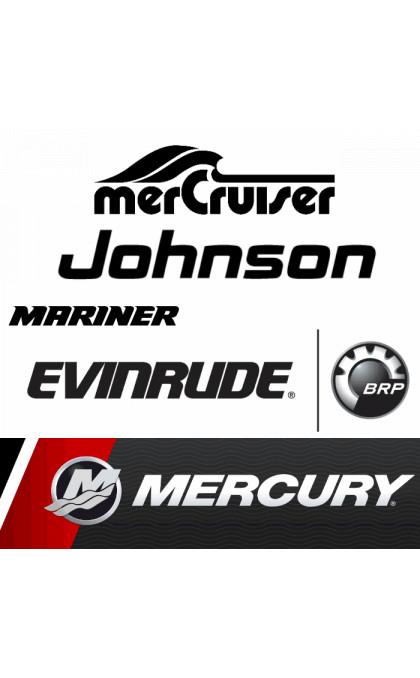 Démarreur pour Bateau / Moteur Marine EVINRUDE-JOHNSON / MERCURY / MARINER / MERCRUISER