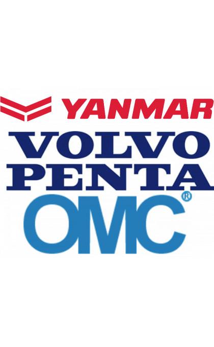 Démarreur pour OMC / BUCK / VOLVO / PENTA / YANMAR