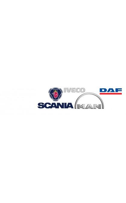 Starter for truck / Dump truck / Heavy duty DAF / MAN / MAZ / IVECO / SCANIA