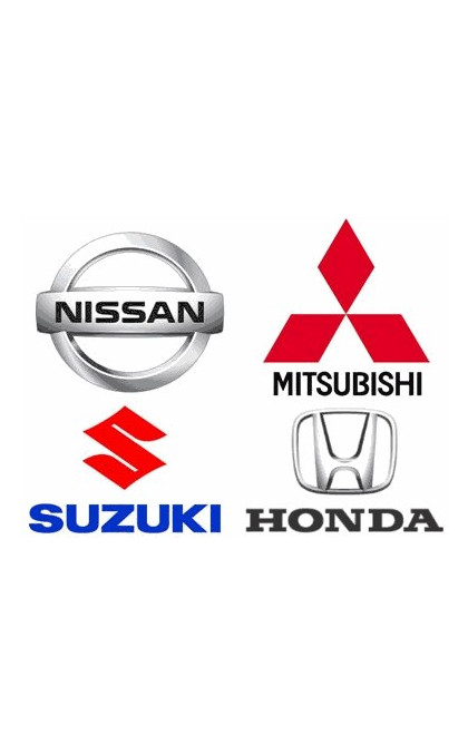 Démarreur pour Suzuki / Nissan / Mitsubishi / Honda