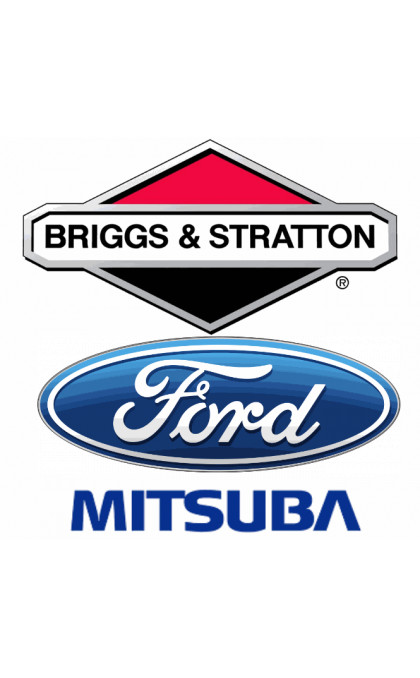 Couronne / Porte balais pour démarreur FORD / BRIGGS&STRATTON / MITSUBA